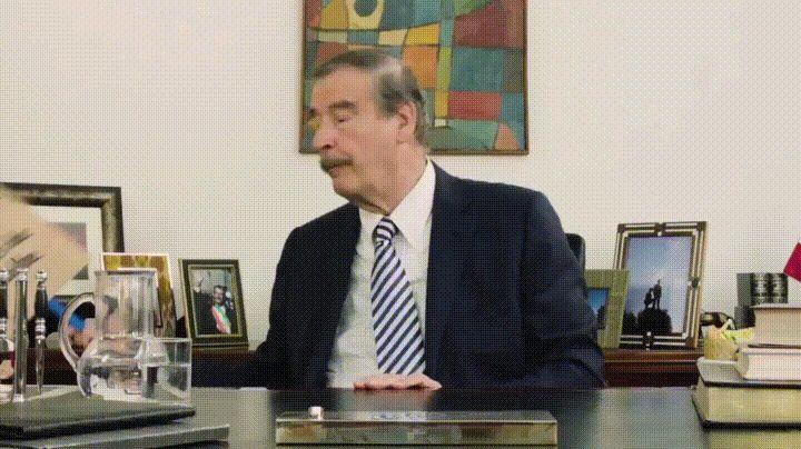Vicente Fox manda un mensaje a Donald Trump (otra vez)