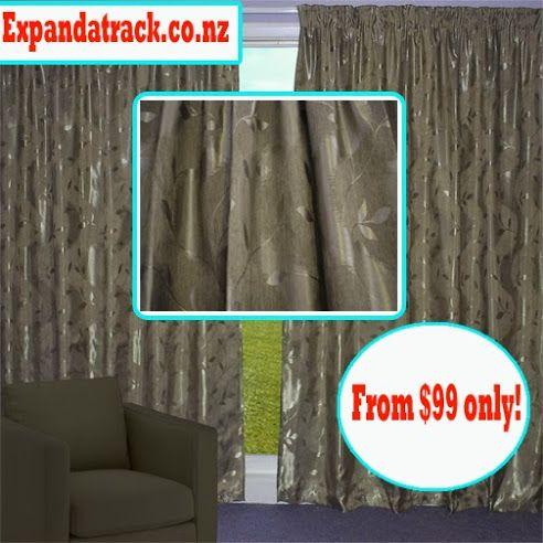 Bronze Nettle Elegant Curtain http://expandatrack.co.nz/bronze-nettle buy…