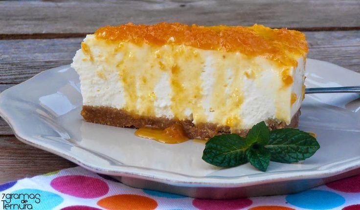 Cheesecake de Queijo de Cabra com Doce de Abóbora e Coco