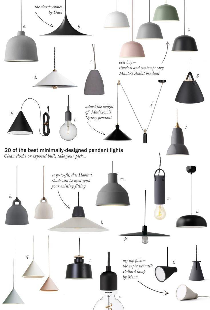 20 of the best minimal pendant lights