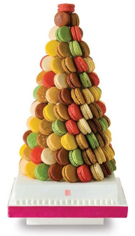 Macarons dürfen nicht fehlen, vielleicht sogar so als Piece Montée?