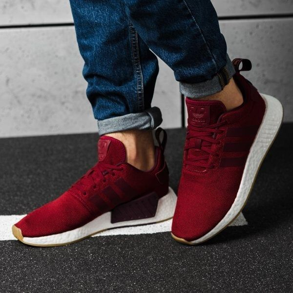 Adidas NMD R2 Burgundy Men's size 5, women's size 6.5. These tend ...