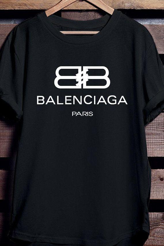 Hey J Ai Trouve Ce Super Article Sur Etsy Chez Https Www Etsy Com Fr Listing 618394901 Chemise Balenciaga Ch Balenciaga T Shirt Printed Shirts Mens Tshirts