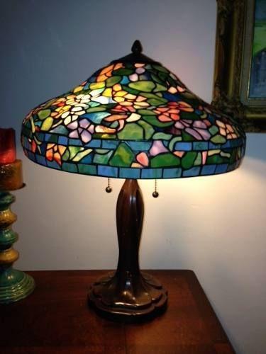 Cómo hacer una lampara tiffany. Una manualidad muy sencilla y muy decorativa.