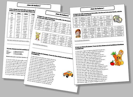 Voici 3 fiches que j'aime utiliser en fin d'année avec des classes de CM. Télécharger le fichier :   Il s'agit de petits jeux de lecture que j'ai tiré […]