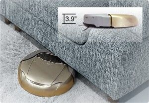Low Profile Robot | With a height of less than 4 inches (10.2 cm) tall, D77 is a low profile robot that easily finds dust bunnies under the furniture where they hide. Routine cleaning in these areas by D77 easily removes allergy-causing contaminants and doesn't require moving furniture as with traditional vacuum cleaners.