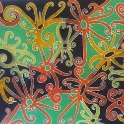 Baju Batik Tulis Motif Dayak - Borneo Artshop