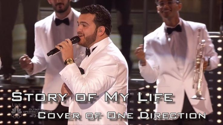 "Sal Valentinetti performs ""Story of My Life"" on AGT Live Show"