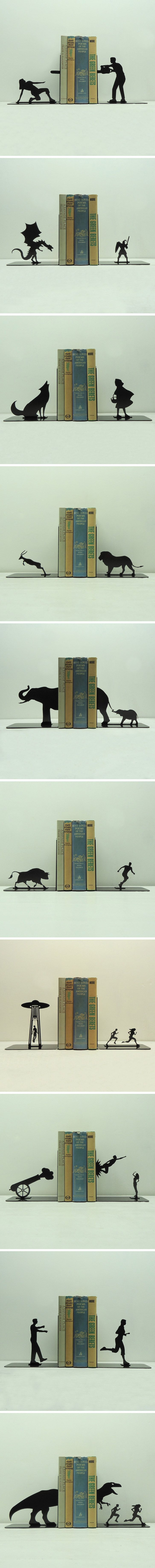 Awesome bookends, wants!