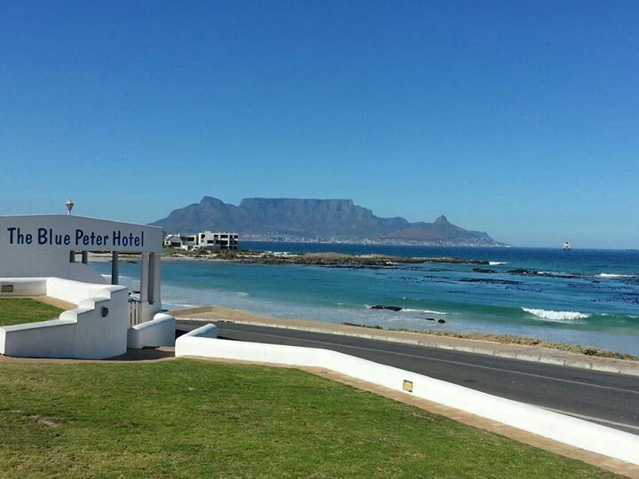 Bloubergstrand overlooking Tablemountain in Cape Town