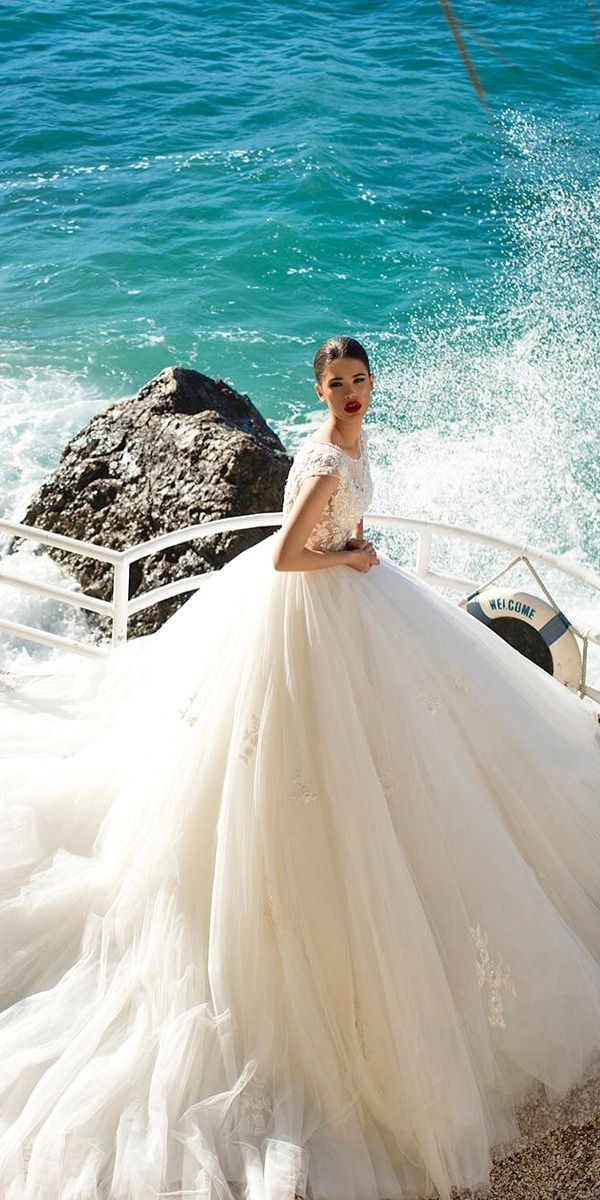 Princess ball gown bridal dresses