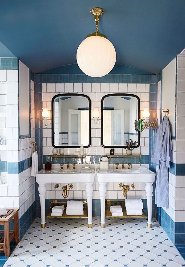 17 best images about bathrooms on brass blue 15845