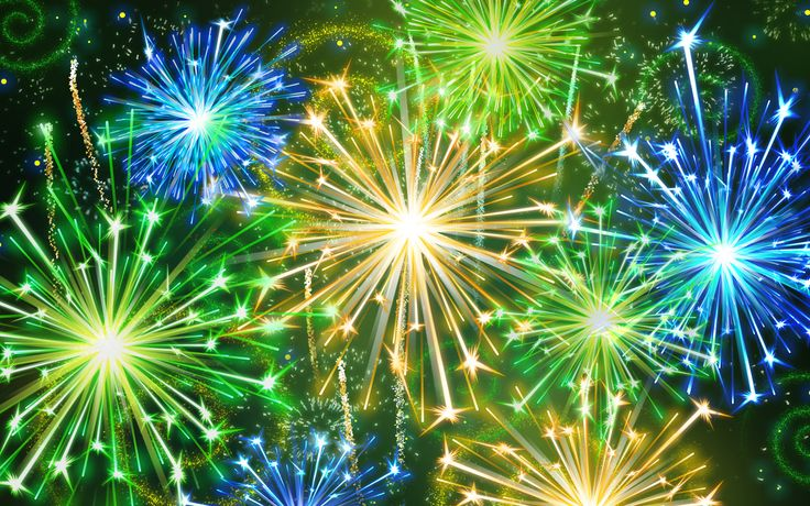 FireworksGreen, Colors, Red White Blue, Credit Score, Fireworks, 4Th Of July, Christmas Holiday, Desktop Wallpapers, New Years Eve