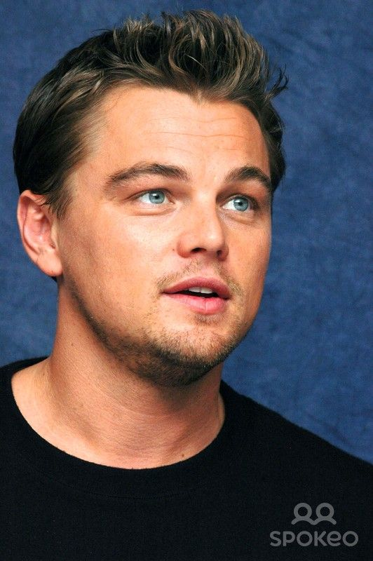 Leonardo DiCaprio at the Hollywood Foreign Press Association press conference for the movies 'Blood Diamond'