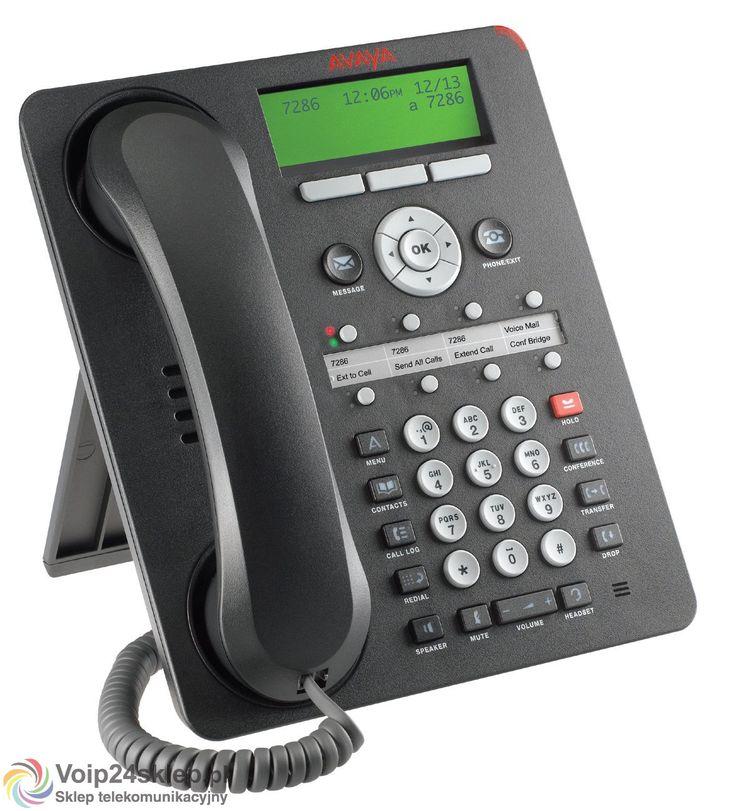 Telefon systemowy Voip Avaya 1608-I BLK voip24sklep.pl