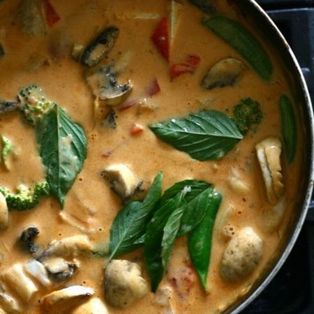 Panang Curry - my favorite kind, and I don't want to learn to make it ...