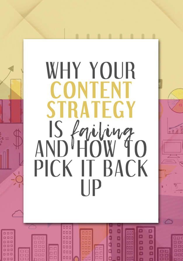 Why Your Content Strategy is Failing and How You Can Pick it Back Up - LIZZIE DAVEY