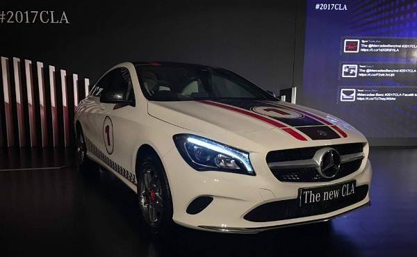 Mercedes-Benz India Launches Facelift CLA Class in India Check out the #NewCLAClass Features and Price....https://goo.gl/vGz4PS #MercedesBenzCLAClass #MercedesCLAClass #Luxury #Cars