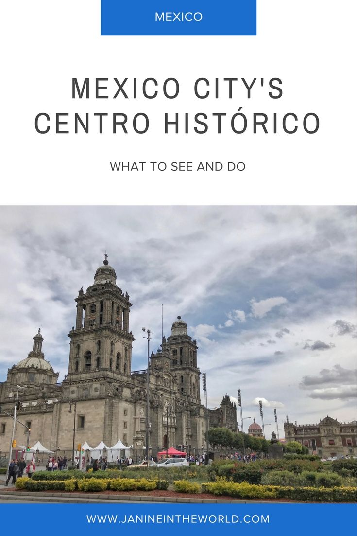 Mexico City's centro histórico is a fascinating neighborhood in the heart of the city. It is filled with historically significant sites and buildings. You could easily spend a week exploring there! Read on for some of my favorite spots to visit. #mexico #mexicotravel #mexicocity
