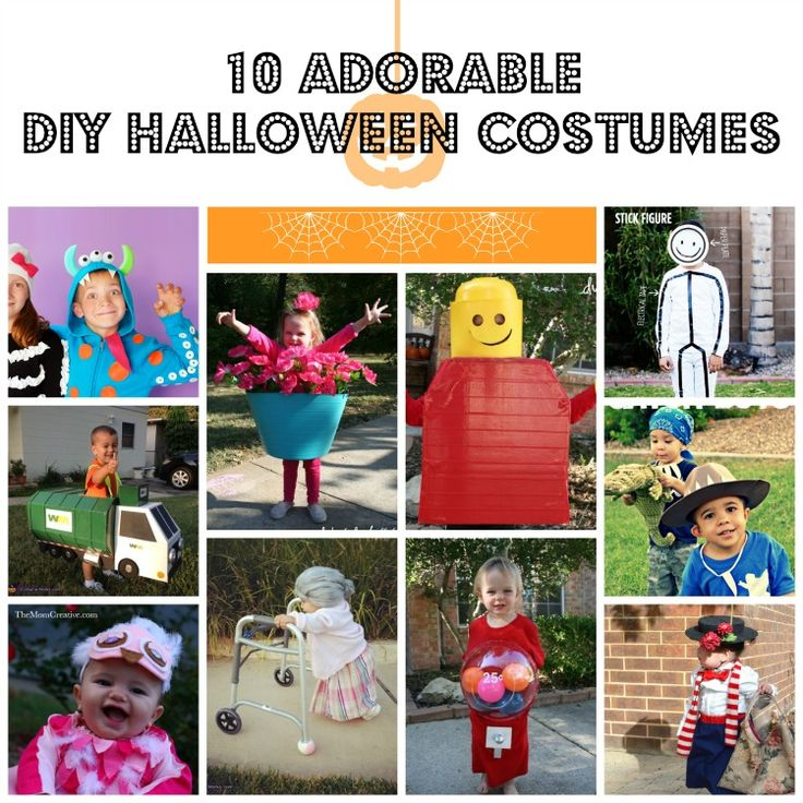 10 {Adorable} DIY Halloween Costumes