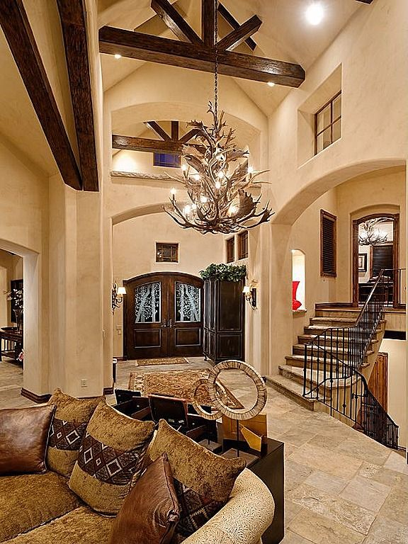 1458 best foyer hallway images on pinterest stairs for House foyer designs