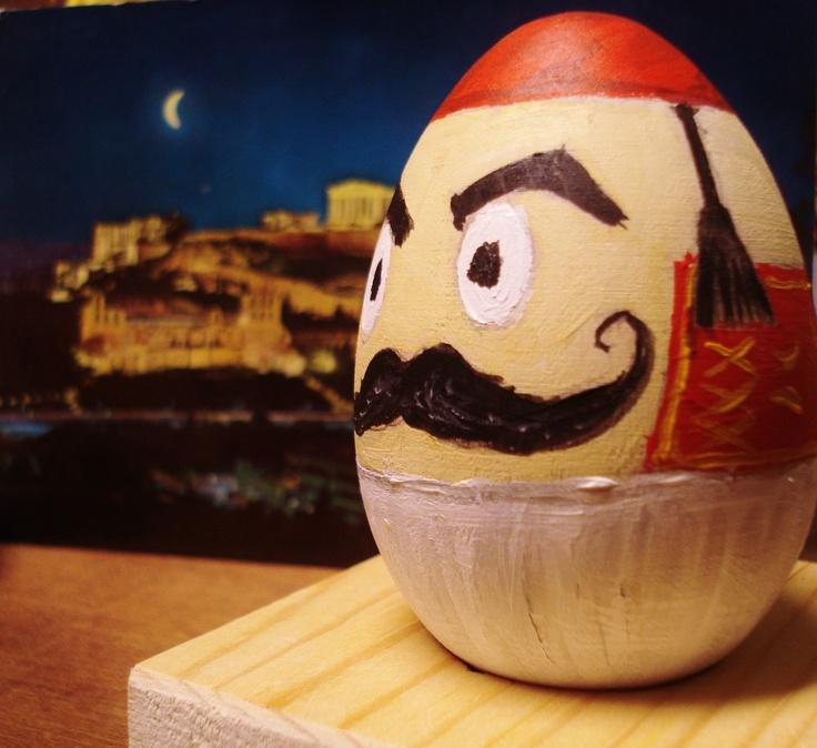 Greek Easter time ....kitsos egg