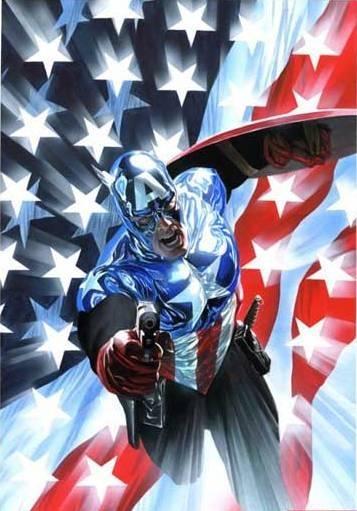 Captain America: Alexross, Captainamerica, Captain America, Marvel Comics, Comic Book, Alex Ross, Alex O'Loughlin, Superhero