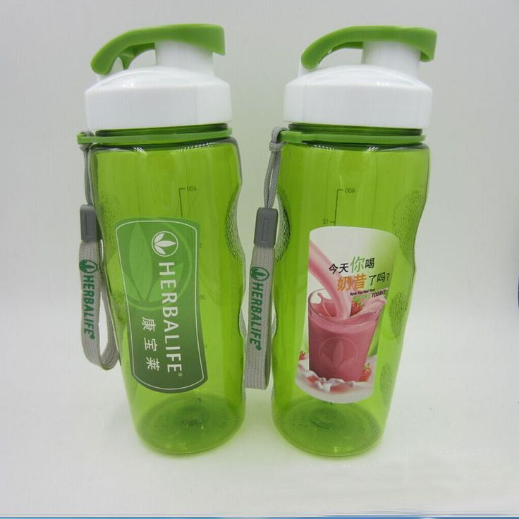 New Fashionable  500ML Sports Water Bottles Plastic Cup With Straw Portable Space Cup Plastic Coffee Mugs Drink Bottles Cheap