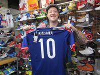 【新宿2号店】2014.09.20 スイスからのお客様です!格闘家のアンディ・フグ氏のお話しをさせていただきました!!日本観光を楽しんで下さいね\(^o^)/