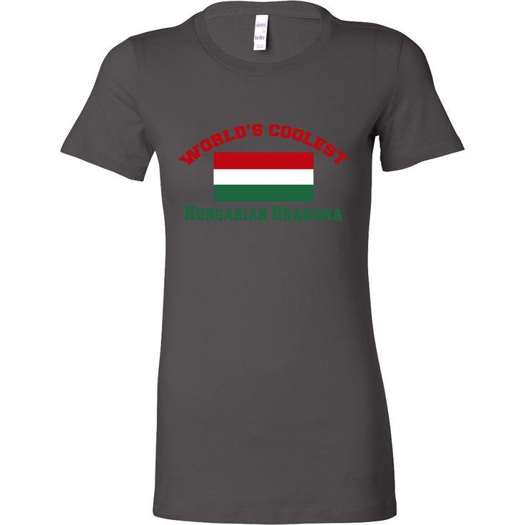 World's Coolest Hungarian Grandma T-Shirt