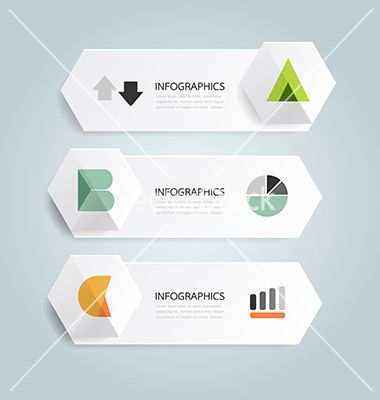 Modern design minimal style infographic template vector 1472424 - by pongsuwan on VectorStock®