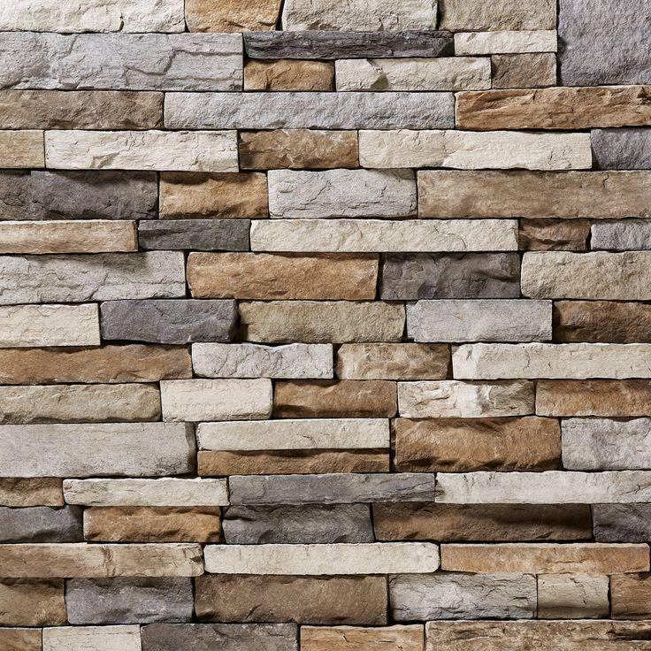 SP Shasta Mountain Ledgestone Stone Veneer From