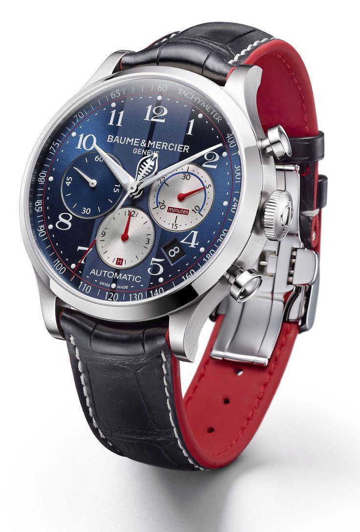 Dieses und weitere Luxusprodukte finden Sie auf der Webseite von Lusea.de Baume-et-Mercier-Capeland Cobra Stahlversion