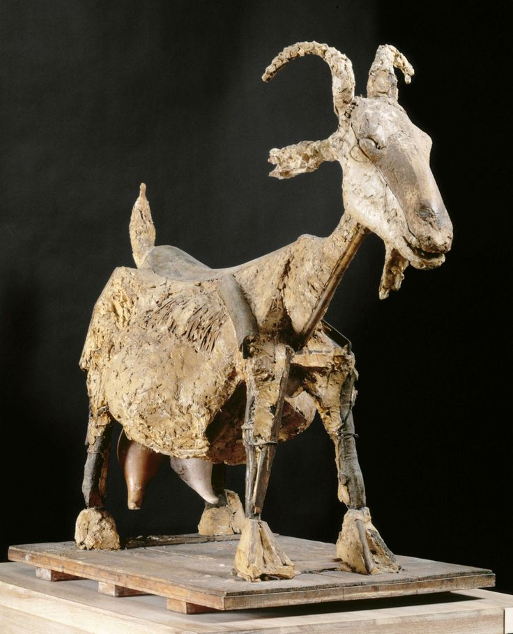 """Pablo Picasso, """"La chèvre"""" © RMN-Grand Palais (musée Picasso de Paris) / Thierry Le Mage / Franck Raux © Succession Picasso 2015."""