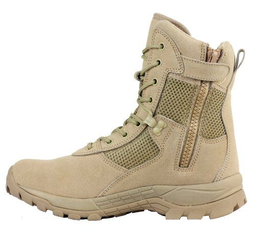 Maelstrom LANDSHIP 8'' Military Tactical Boots with Zipper - T1181BZ, Tan, Size 10.5W Maelstrom http://www.amazon.com/dp/B00F40VF6Y/ref=cm_sw_r_pi_dp_Vihiub0BGSHQX