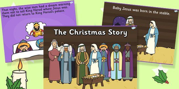 The Nativity Christmas Story Powerpoint  - twinkl