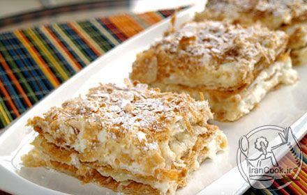 شیرینی ناپلئونی Napolian pastry