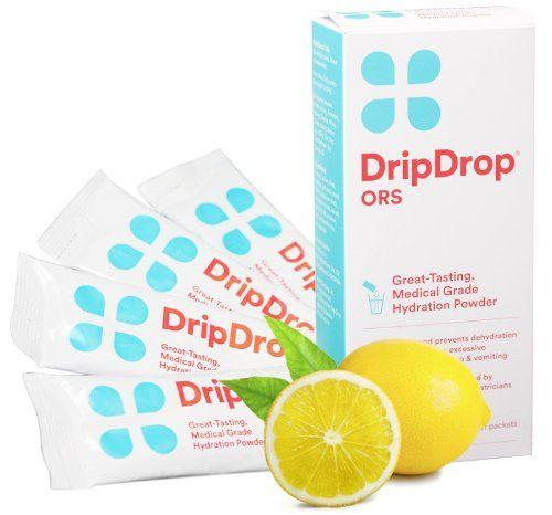 Drip Drop ORS 4 Powder Packs Lemon Drip Drop ORS http://www.amazon.com/dp/B004HIXN28/ref=cm_sw_r_pi_dp_qUfLub0W2ENRZ