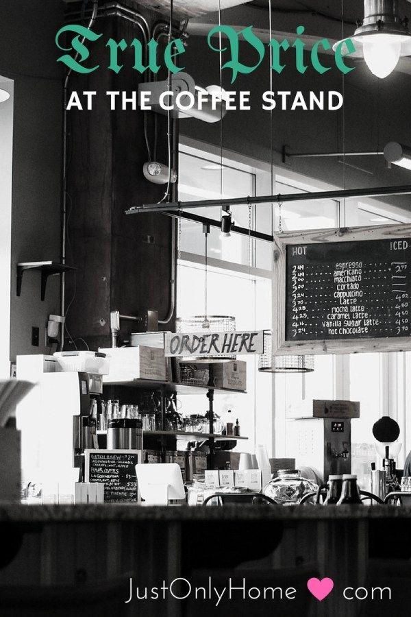 True Price - Coffee Stand
