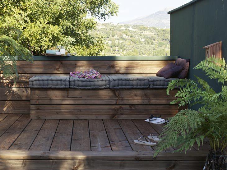 25 best ideas about balcon bois on pinterest patio en bois idee amenageme - Leroy merlin planche ...