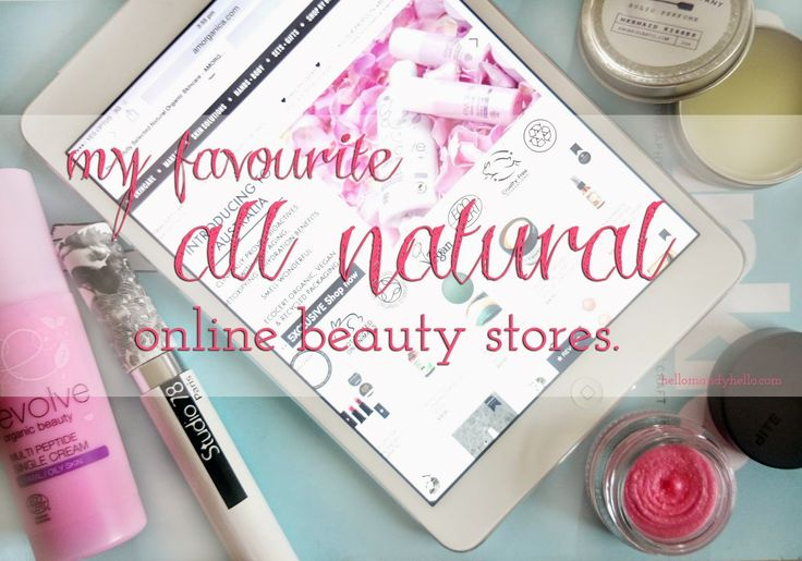 My favourite all natural online beauty stores. Featuring Amorganica and Natural Supply Co.