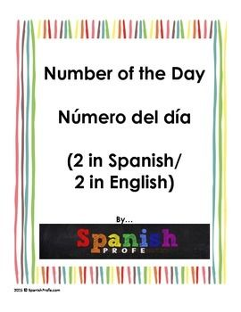 This product includes 4 blank sheets for the number of the day. Two in English and Two in Spanish. It would ideally be used in a first grade or second grade classroom (during the first half of the school year). It has students, write the place values, the number in words, tally marks, picture or base 10 of the number, sequencing 5, 10, 20 more, etc.