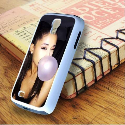 Ariana Grande Bubble Gum Pink Samsung Galaxy S4 Case
