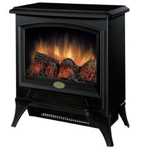 """17.3"""" Dimplex Small Electric Fireplace Stove - CS-1205"""