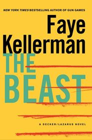 The Beast by Faye Kellerman  I love her Decker and Rina series. I'm sure this won't disappoint.