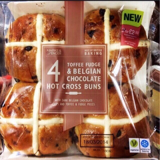 Good Food Chocolate Muffins With Hot Chocolate Custard