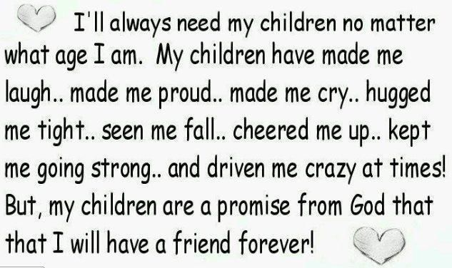 i love my children quotes | Parenting Quotes children hugged ...