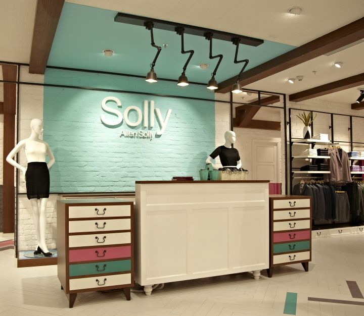 """SOLLY by ALLEN SOLLY,by Restore,New Delhi, India, """"Counter Check"""", pinned by Ton van der Veer"""