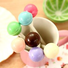 7 Colours Creative Cute Lovely Gel Ink Pen Student Stationery 0.5mm Ball Pen