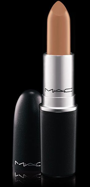 """MAC COSMETICS: Lipstick in """"FRESH BREW"""", The perfect balance of a sleekness caramel nude but with a delicate hint of chocolate creme for depth. $16. True perfection on any woman and all tone combinations. Especially sexy on gingers and brunettes."""